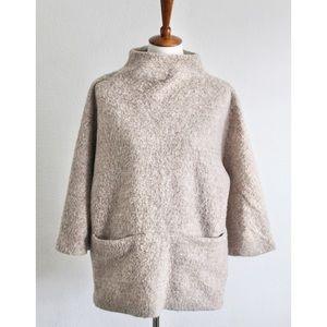 H&M Wool Mock Neck Sweater size Medium